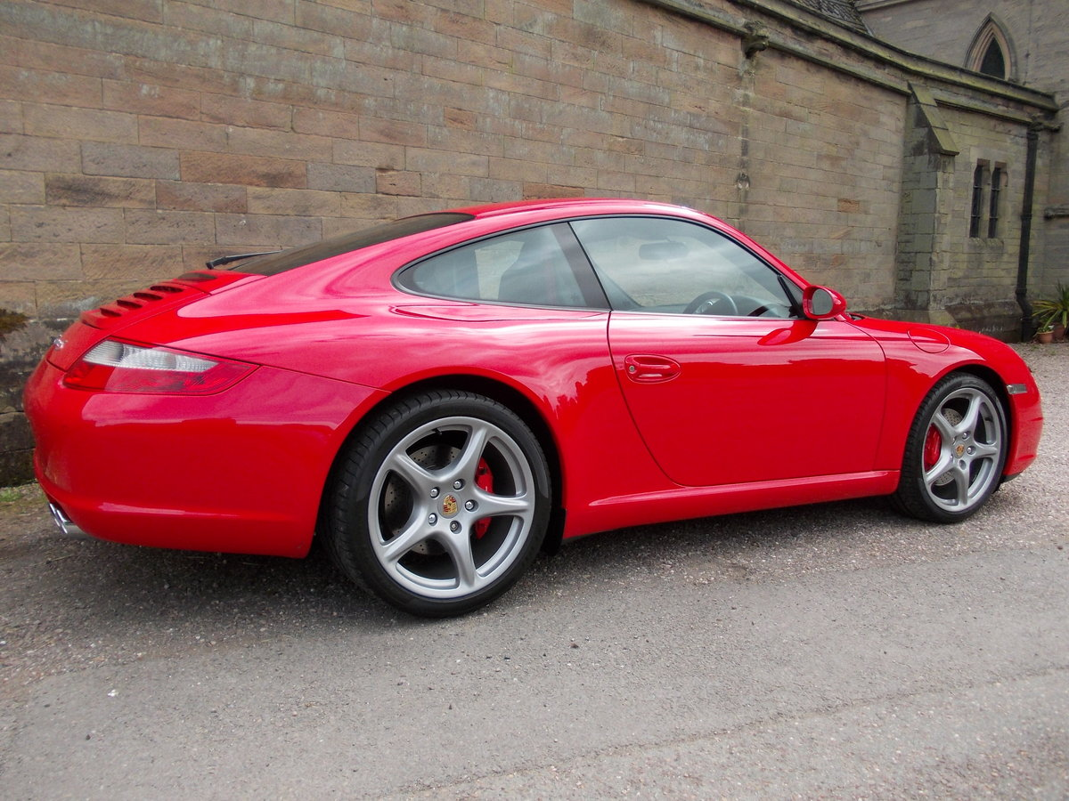 2007 PORSCHE 997 CARRERA 2S .GUARDS RED.SUPERB.£27975 For Sale (picture 5 of 6)