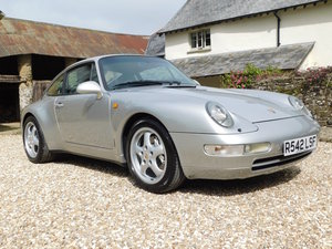 1997 Porsche 911 Carrera 4 (993) - manual coupe, 2 owners, 55k For Sale