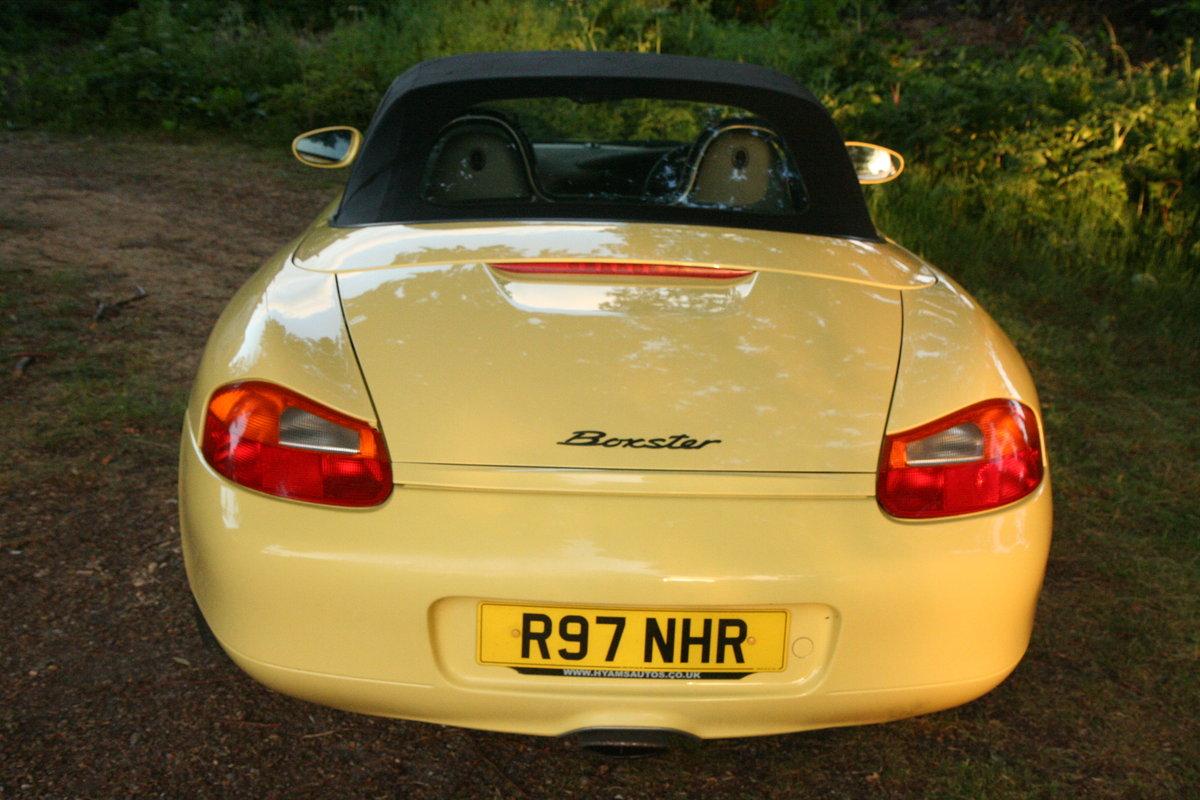 1998 Porsche Boxster 2.5  For Sale (picture 5 of 6)