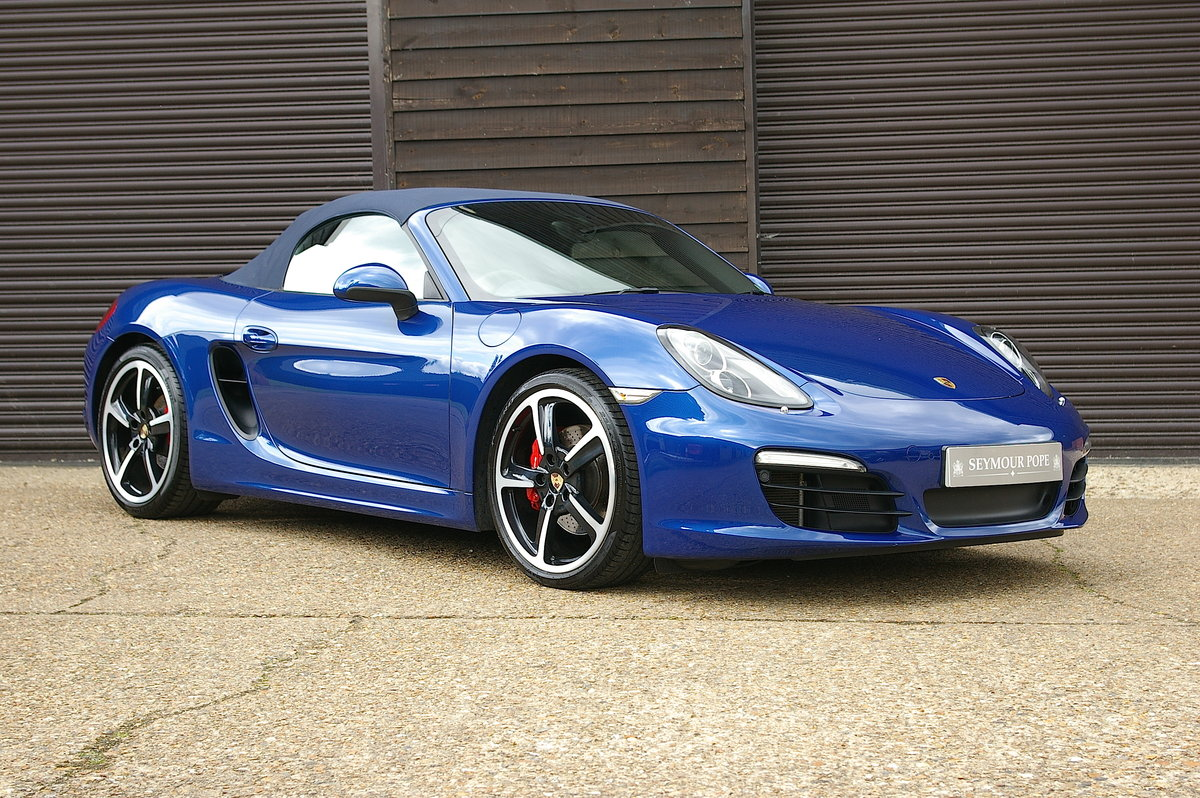 2013 Porsche 981 Boxster S 3.4 Convertible Manual (26,000 miles) SOLD (picture 1 of 6)