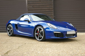 2013 Porsche 981 Boxster S 3.4 Convertible Manual (26,000 miles) SOLD