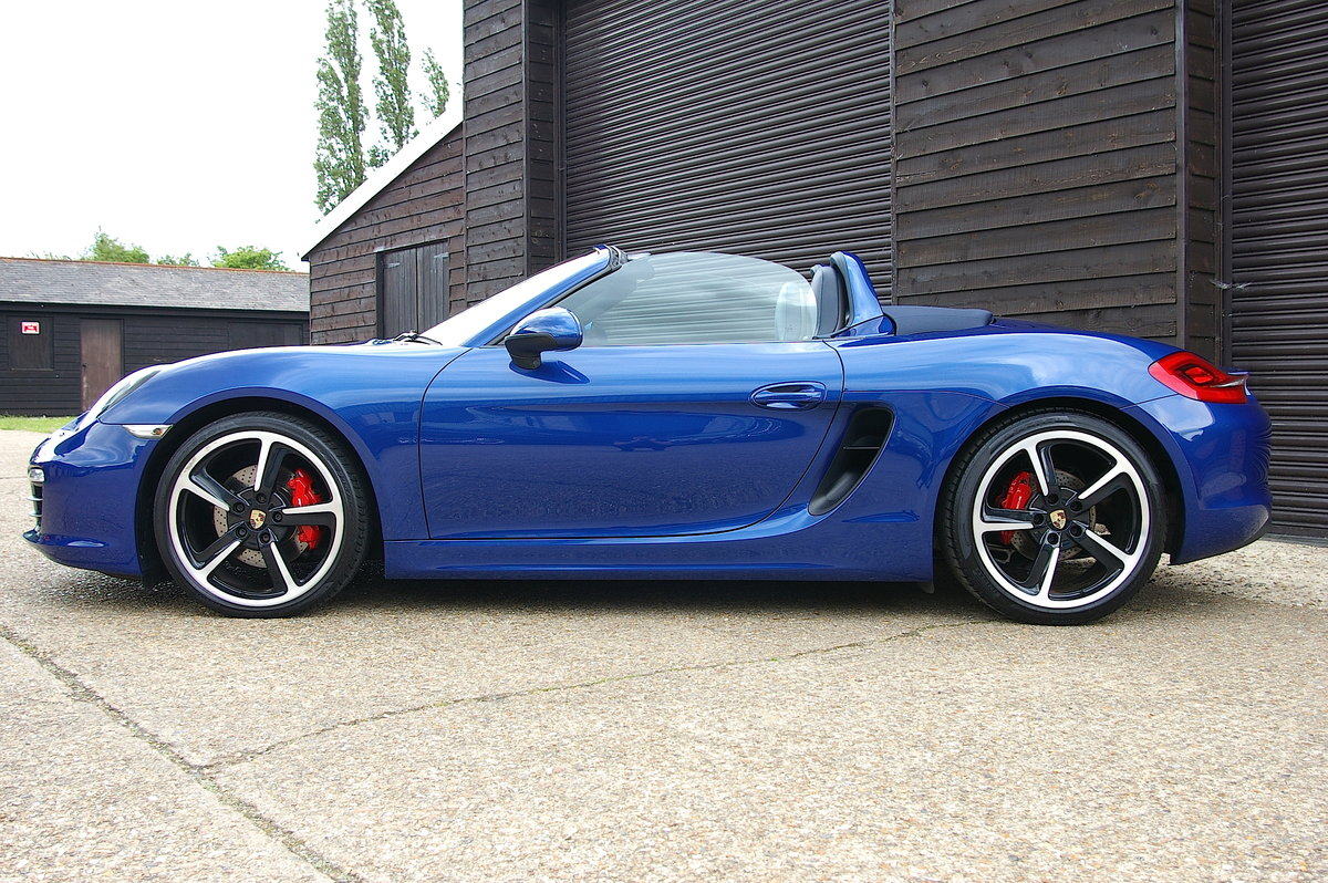 2013 Porsche 981 Boxster S 3.4 Convertible Manual (26,000 miles) SOLD (picture 2 of 6)