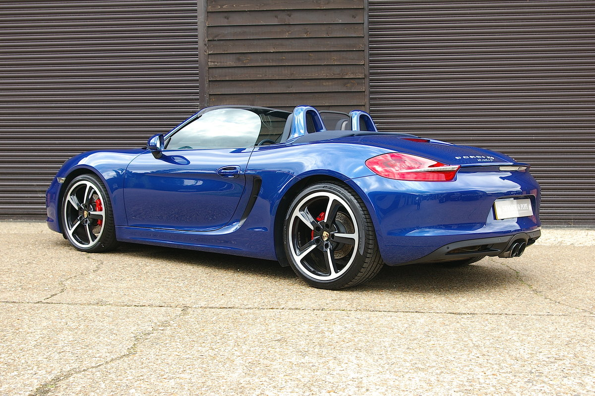 2013 Porsche 981 Boxster S 3.4 Convertible Manual (26,000 miles) SOLD (picture 3 of 6)