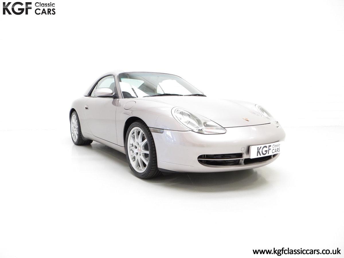 2001 A Porsche 996 911 Carrera 4, 17 Porsche Main Dealer Stamps For Sale (picture 1 of 6)