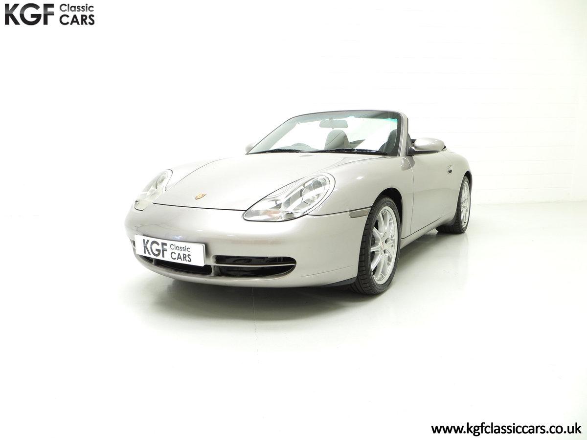2001 A Porsche 996 911 Carrera 4, 17 Porsche Main Dealer Stamps SOLD (picture 2 of 6)