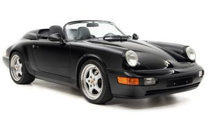 1994 Porsche 911 964 Speedster = 5-Speed Black AC $139.5k For Sale