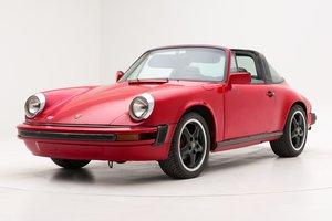 PORSCHE 911 TARGA 1984 For Sale by Auction