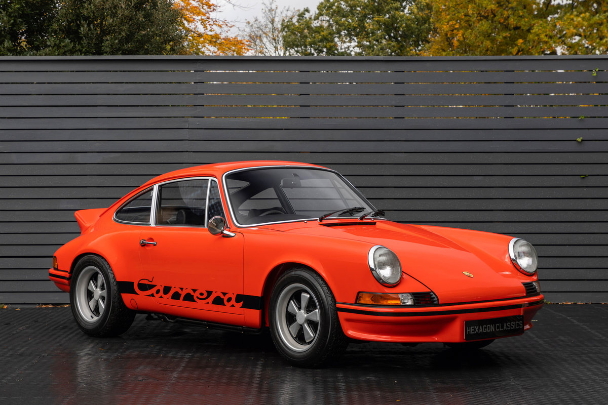 1973 PORSCHE 2.7 RS LIGHTWEIGHT For Sale (picture 1 of 24)