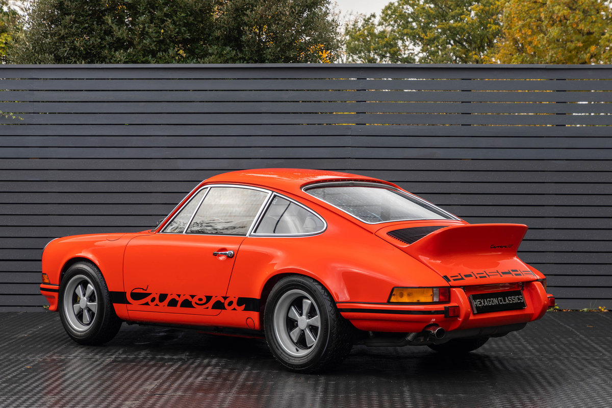 1973 PORSCHE 2.7 RS LIGHTWEIGHT For Sale (picture 2 of 6)
