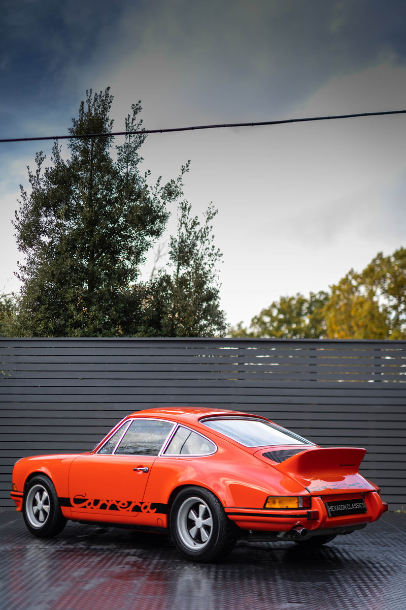 1973 PORSCHE 2.7 RS LIGHTWEIGHT For Sale (picture 5 of 6)