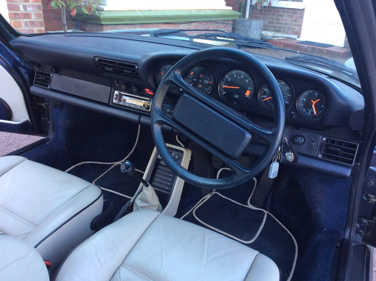 1988 Porsche 911 carr targa supsp For Sale (picture 6 of 6)