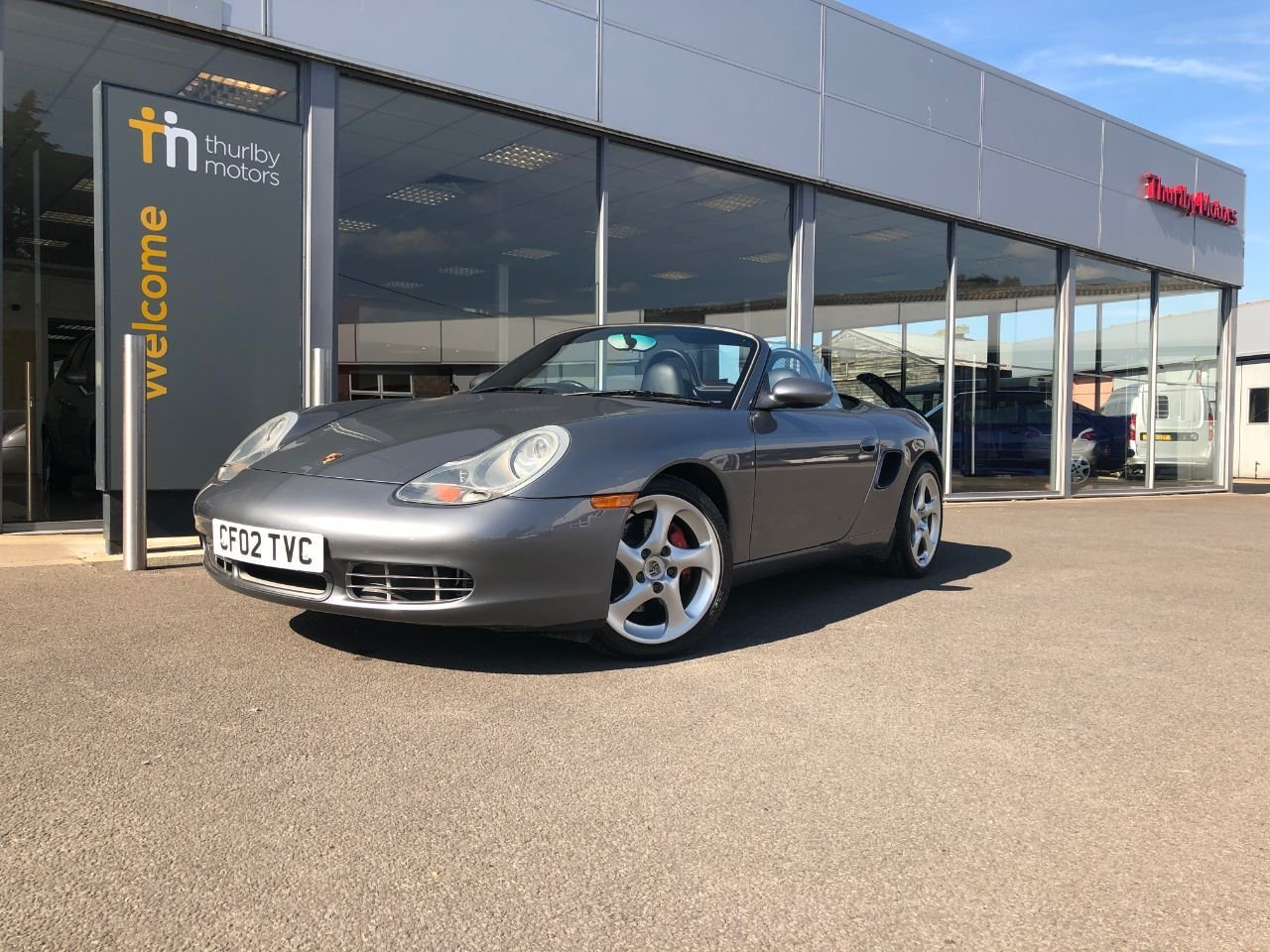 2002 Porsche Boxter S For Sale (picture 1 of 6)