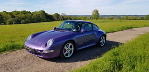 1998 993 LOW MILEAGE RARE MANUAL C 4S - SPECTACULAR VIOLET BLUE   For Sale