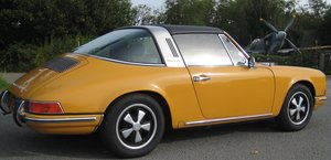 1968 Porsche 912 targa matching numbers bahama yellow