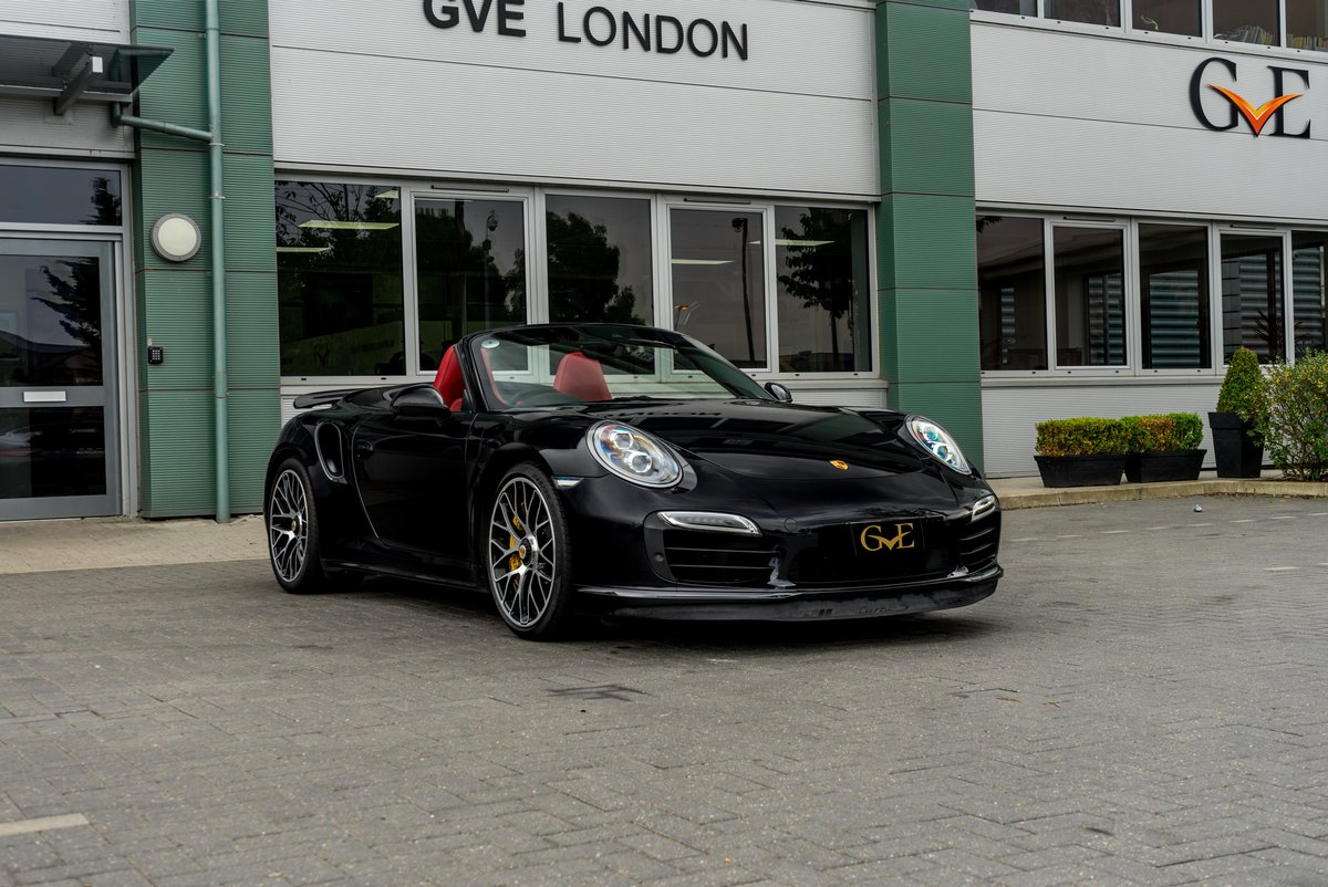 2014 Porsche 911 (991.1) Turbo S Cabriolet For Sale (picture 1 of 6)