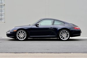 2008 Porsche 911 Carrera Coupe = Blue 6 Speed Manual $39.5k For Sale