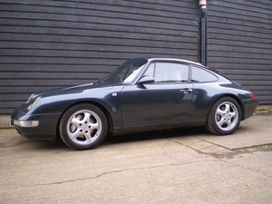 1995 PORSCHE 911/993 3.6 CARRERA 4 COUPE Rare C4 Low Mileage FSH  For Sale