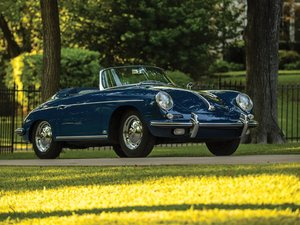 1962 Porsche 356 B Twin Grille Roadster by DIeteren For Sale by Auction