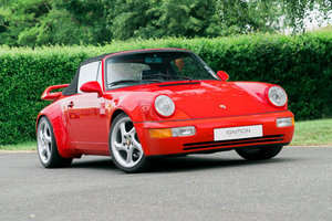 1986 Porsche 911 Gemballa Turbo look Cabriolet For Sale