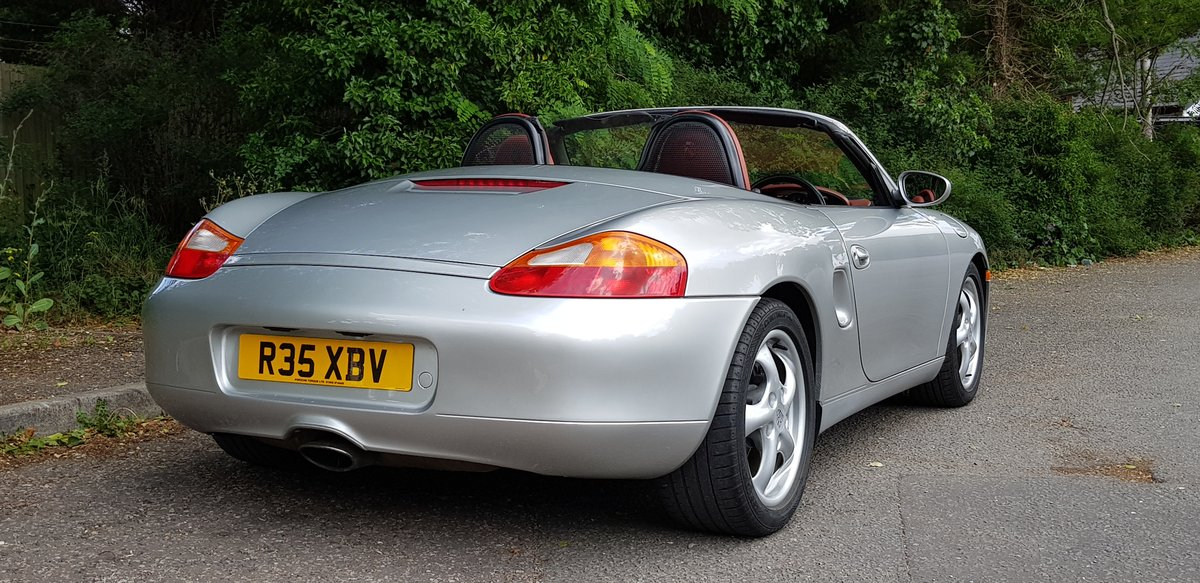 Porsche Boxster 2.5 Tiptronic 1998 SOLD (picture 1 of 6)