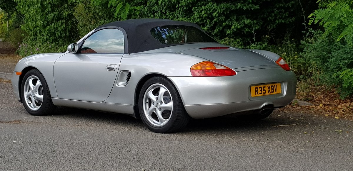 Porsche Boxster 2.5 Tiptronic 1998 SOLD (picture 3 of 6)