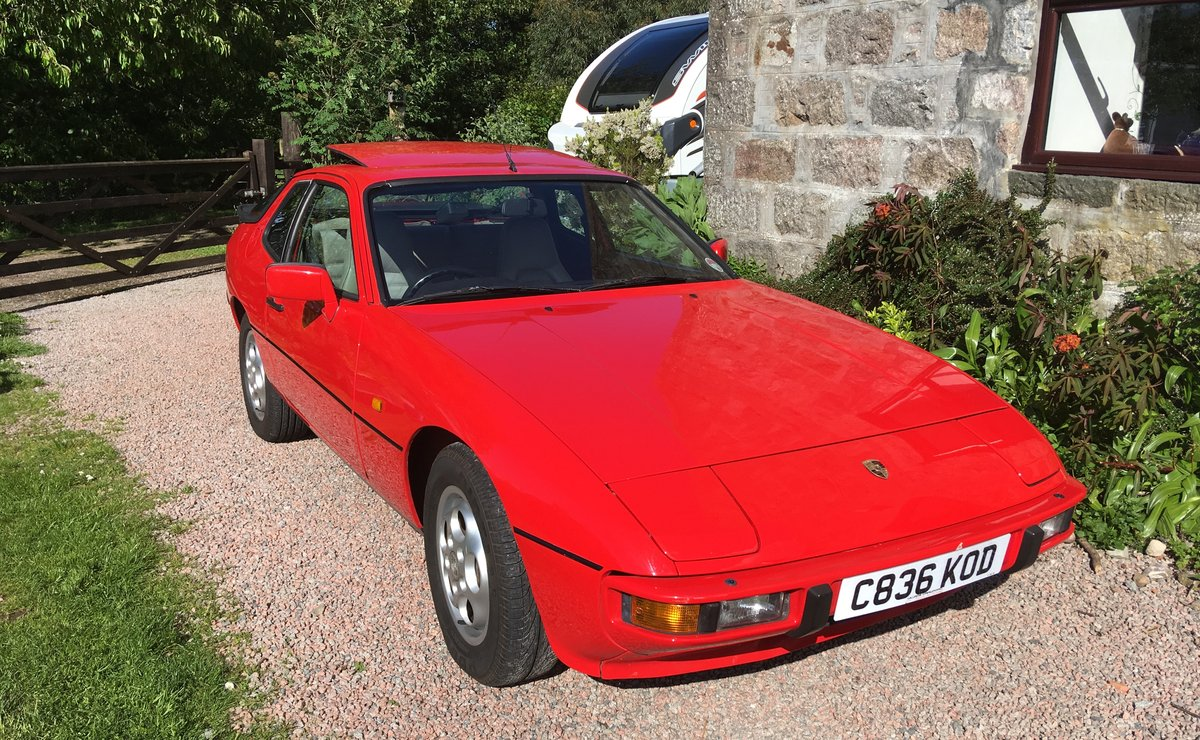 1986 924s in great condition  Massive history - New MOT For Sale (picture 1 of 6)
