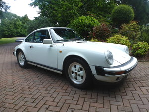 1988 Lovely Carrera 3.2 Sport Coupe with extensive history! For Sale