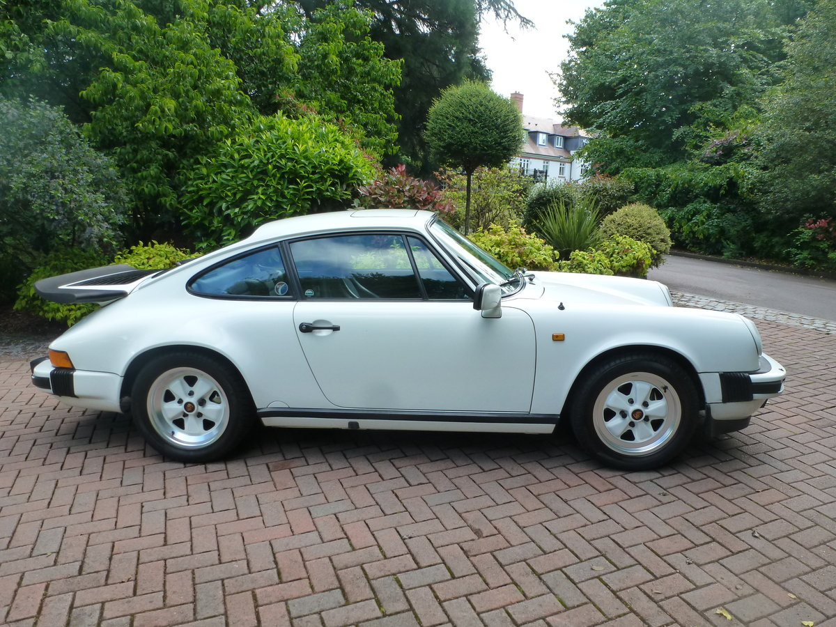 1988 Lovely Carrera 3.2 Sport Coupe with extensive history! For Sale (picture 2 of 6)