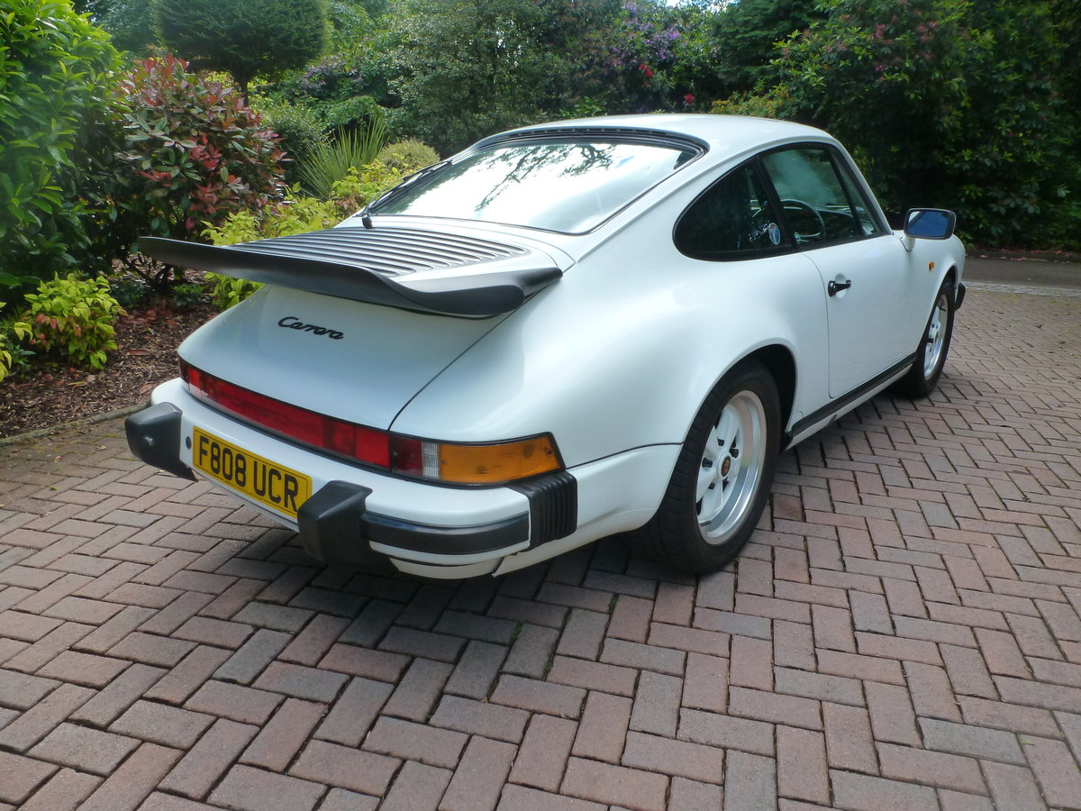 1988 Lovely Carrera 3.2 Sport Coupe with extensive history! For Sale (picture 3 of 6)