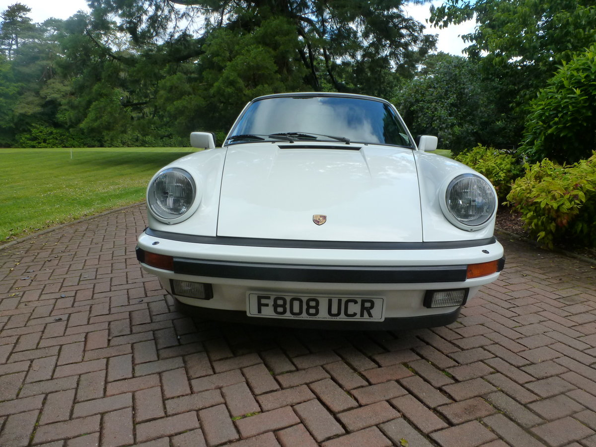 1988 Lovely Carrera 3.2 Sport Coupe with extensive history! For Sale (picture 6 of 6)