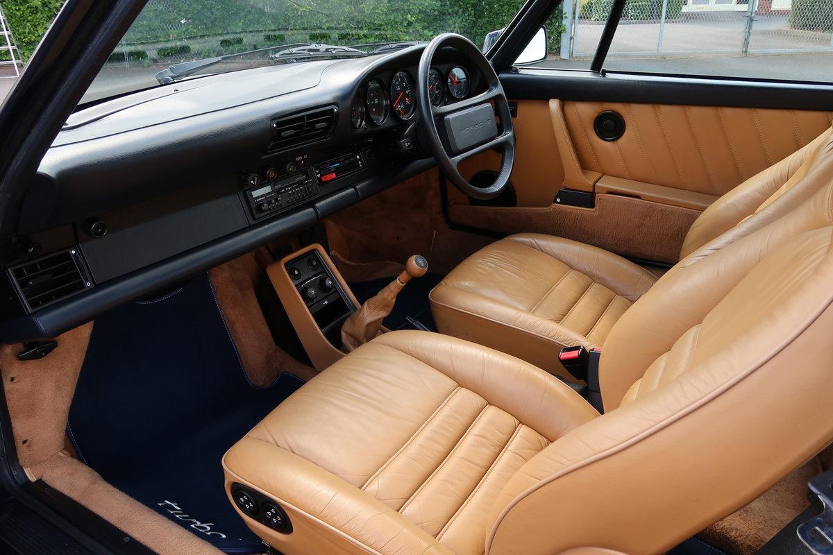 1989 PORSCHE 911 TURBO 3.3 930 G50 For Sale (picture 5 of 6)