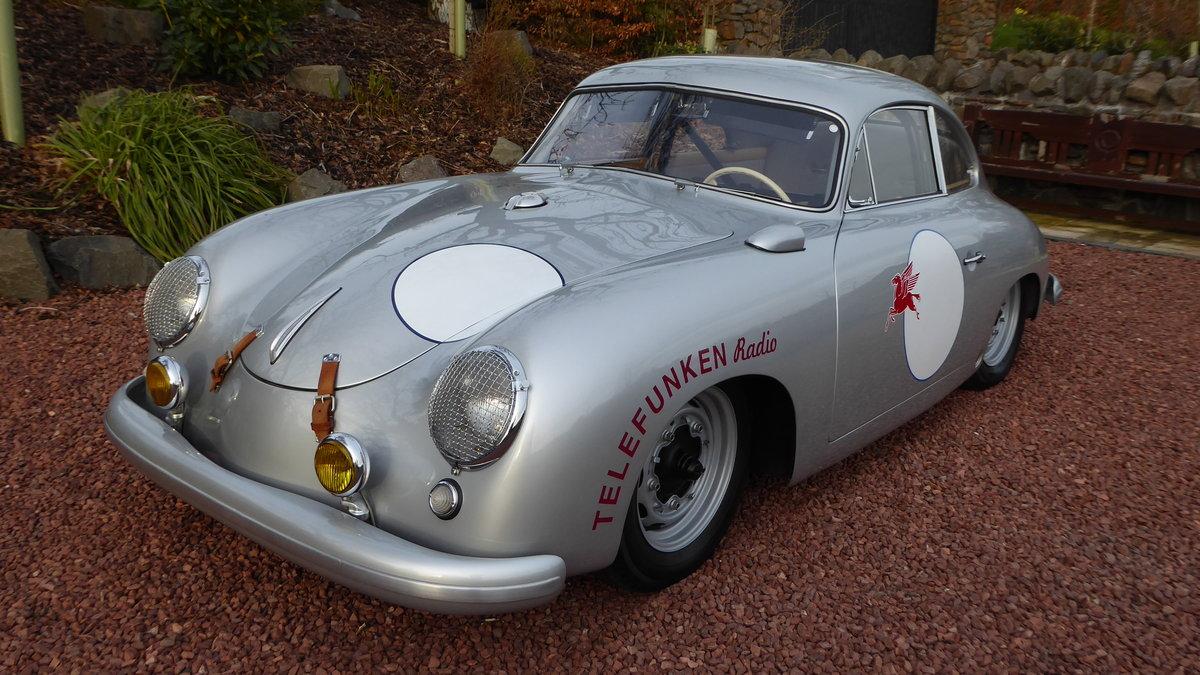 1954 Porsche 356 Pre-A sunroof coupe For Sale (picture 1 of 6)