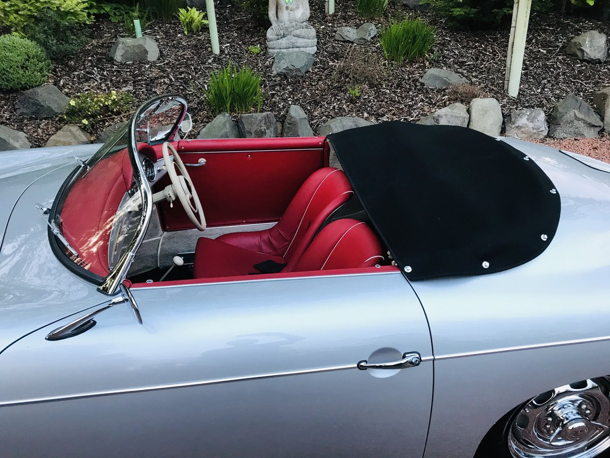 Porsche 356A Speedster 1958 (Matching numbers) RHD Concours For Sale (picture 2 of 6)