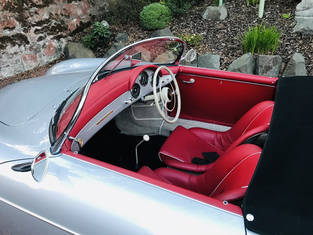 Porsche 356A Speedster 1958 (Matching numbers) RHD Concours For Sale (picture 5 of 6)