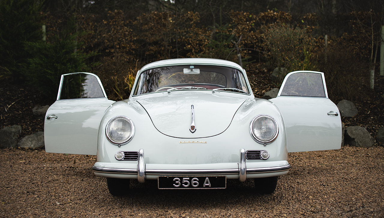 Porsche 356A Coupe 1957 Right hand drive, AFN Supplied SOLD (picture 2 of 6)