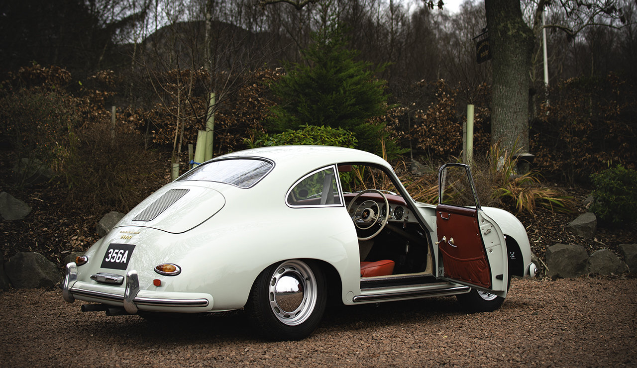 Porsche 356A Coupe 1957 Right hand drive, AFN Supplied SOLD (picture 3 of 6)