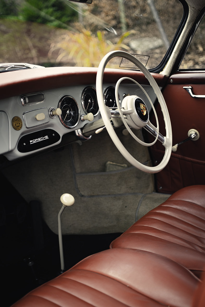 Porsche 356A Coupe 1957 Right hand drive, AFN Supplied SOLD (picture 4 of 6)