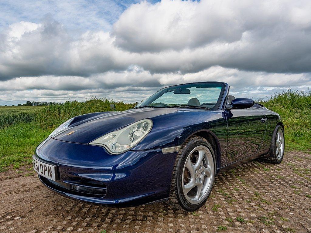 2001 Porsche 911 3.6 (996) Carrara 4 AWD Cabriolet // 43k Miles For Sale (picture 1 of 6)