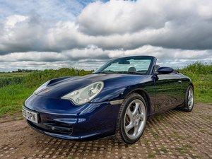 2001 Porsche 911 3.6 (996) Carrara 4 AWD Cabriolet // 43k Miles For Sale