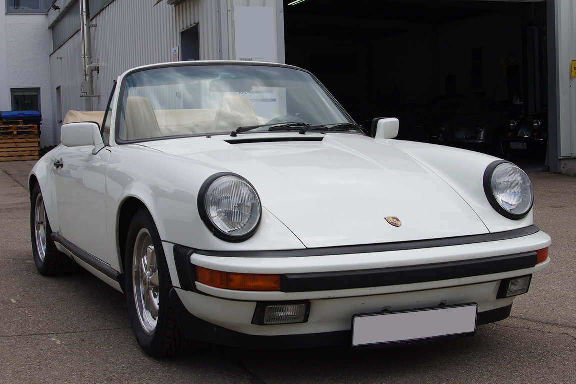 1985 Porsche 911 SC Convertible - LHD SOLD (picture 1 of 6)