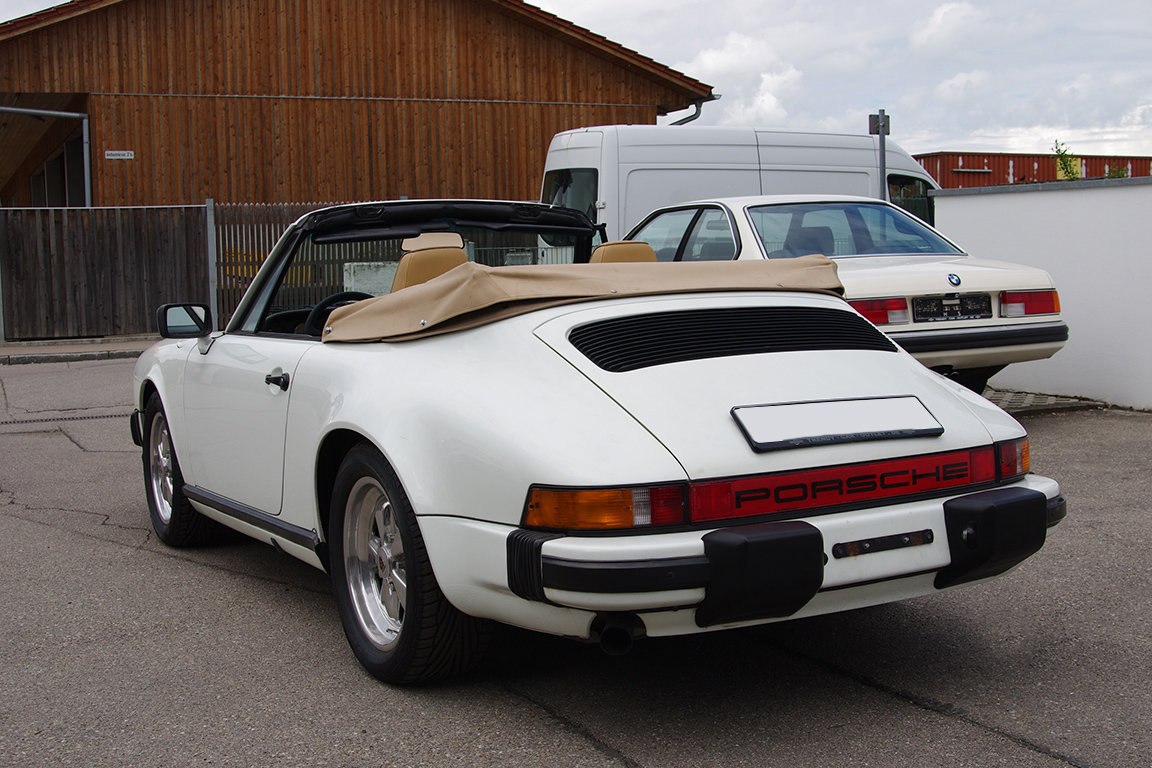 1985 Porsche 911 SC Convertible - LHD SOLD (picture 4 of 6)