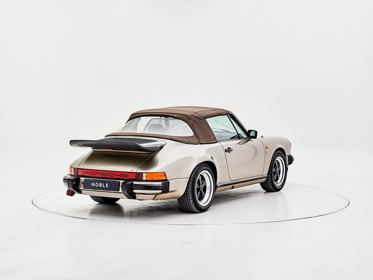 1984 PORSCHE 911 3.2 CARRERA CABRIOLET For Sale by Auction (picture 1 of 6)