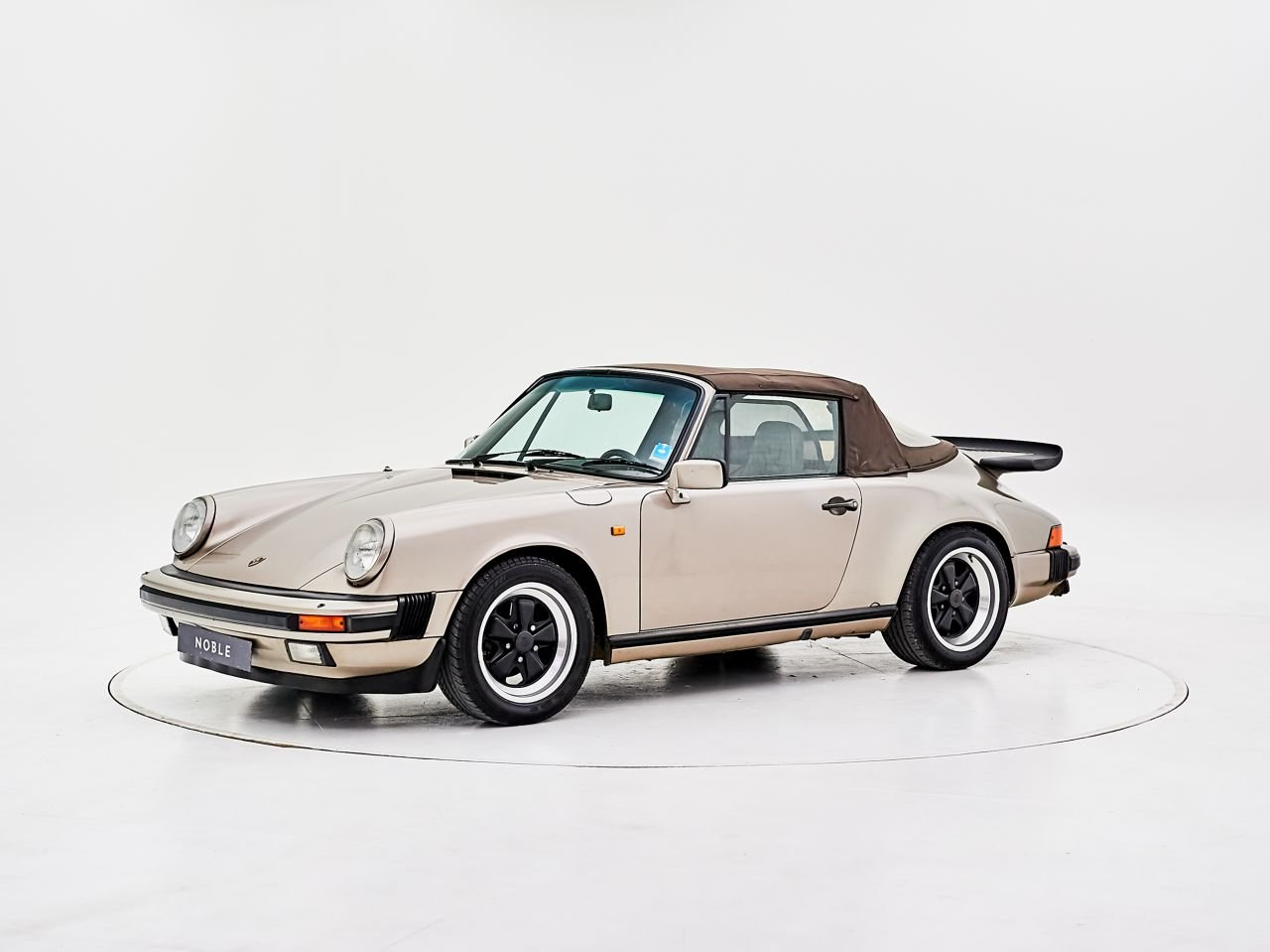 1984 PORSCHE 911 3.2 CARRERA CABRIOLET For Sale by Auction (picture 6 of 6)
