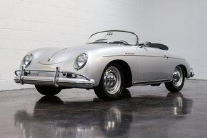 1958 Porsche 356A T2 Speedster = Restored Correct Silver  For Sale