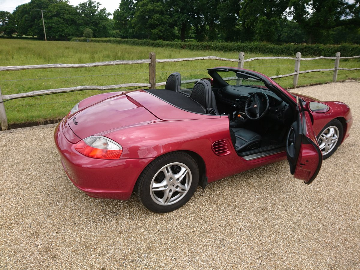 2003 Porsche Boxster Convertible 2.7 For Sale (picture 3 of 6)