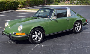 1970 Porsche 911 E Targa = rare E Celebrity Owned AC $99k For Sale