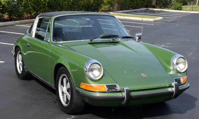 1970 Porsche 911 E Targa = rare E Celebrity Owned AC $99k For Sale (picture 2 of 6)