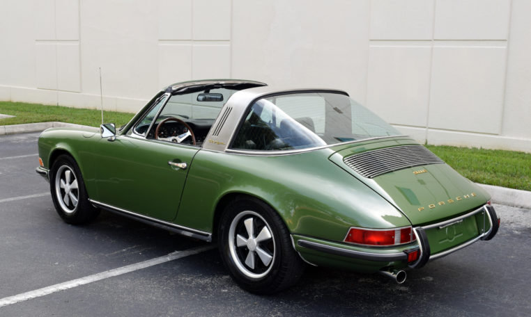 1970 Porsche 911 E Targa = rare E Celebrity Owned AC $99k For Sale (picture 3 of 6)
