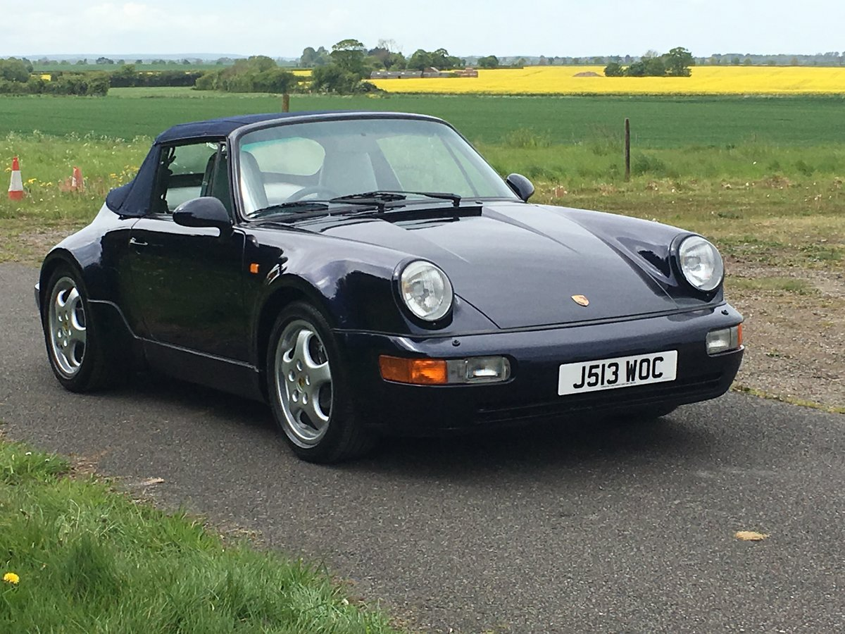 1992 Porsche 911 (964) Carrera 2 Cabriolet  For Sale (picture 1 of 6)