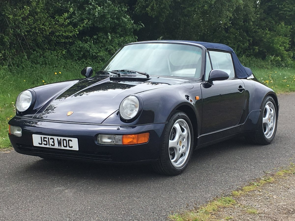1992 Porsche 911 (964) Carrera 2 Cabriolet  For Sale (picture 2 of 6)
